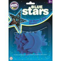 BS Cosmic Glow Kék Csillagok, foszforeszkáló