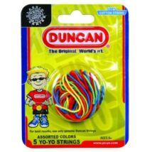 Duncan yo-yo zsinór multicolor 5db