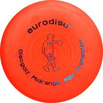 Eurodisc Discgolf Midrange Transition Bio golf frizbi narancs