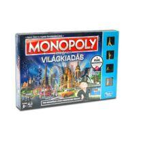 Monopoly Itt és most Világkiadás társasjáték