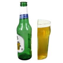 Thumbs Up Egy fél pohár sör