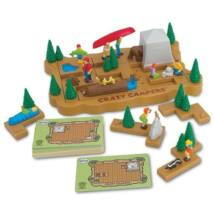 Popular Playthings Crazy Campers logikai játék