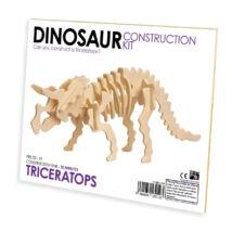 Triceratops fa építő szett, standard