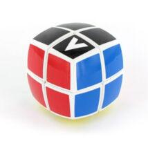 V-Cube 2x2 versenykocka, fehér, lekerekített matrica nélküli