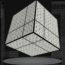 V-Cube 3x3 versenykocka, V-udoku