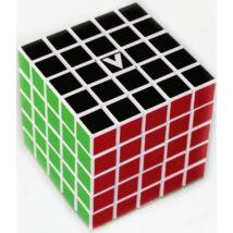 V-Cube 5x5 versenykocka, egyenes, fehér