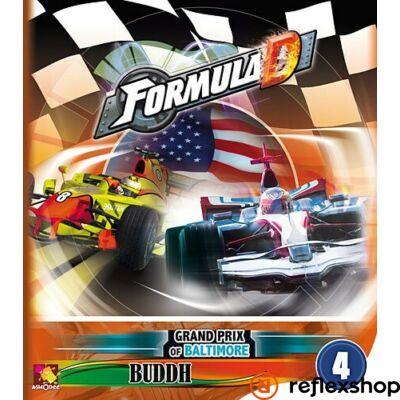 Formula D: új pályák - Baltimore és Buddh kiegészítő