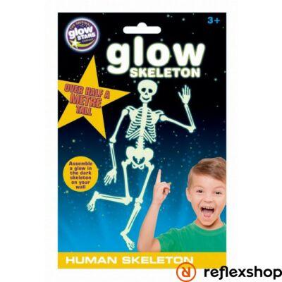 Brainstorm Glowstars Csontváz foszforeszkáló matrica