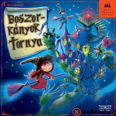Drei Magier Spiele Boszorkányok tornya társasjáték