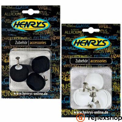 Henry's Delphin knob szett, fekete