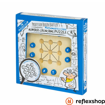 Brain Baffler's Professor Puzzle Number Crunching logikai kirakó