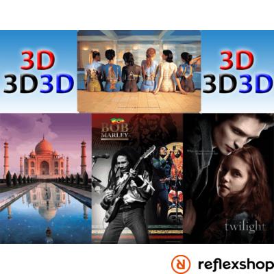 3D Plakát - Nagyméretű háromdimenziós poszter