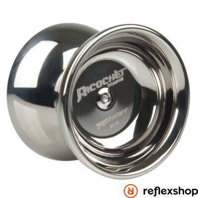 YoYoFactory Ricochet TI yo-yo ezüst