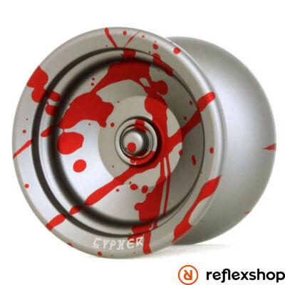 YoYoFactory Cypher yo-yo szürke-piros splash