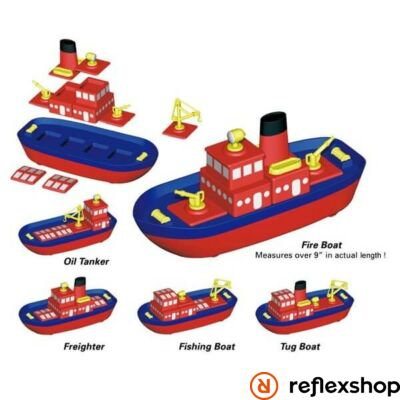 Popular Playthings Build-A-Boat építő játék