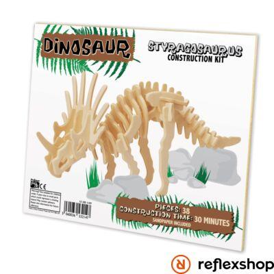 Styracosaurus Professor Puzzle fa építő szett standard