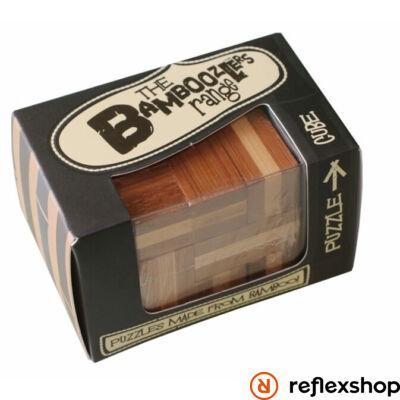 Cube mini Professor Puzzle bambusz ördöglakat