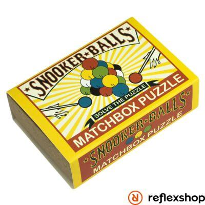 Snooker Balls Matchbox Professor Puzzle ördöglakat
