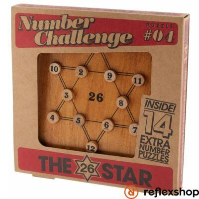 The 26 Star fa Professor Puzzle logikai játék