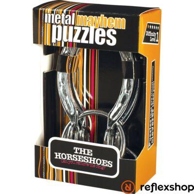 The Horseshoes fém Professor Puzzle ördöglakat