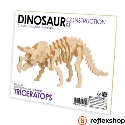 Triceratops fa építő szett standard