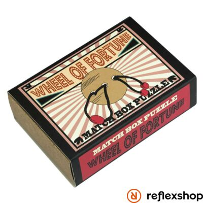 Wheel of Fortune Matchbox Professor Puzzle ördöglakat