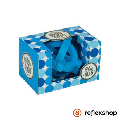 PP színes blokk puzzle kék