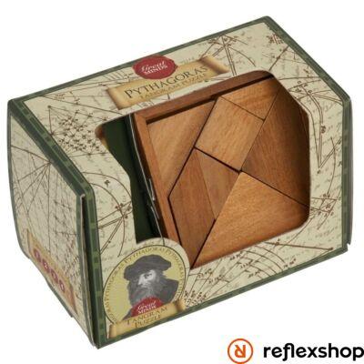 Nagy Elmék - Pitagorasz Tangram Professor Puzzle ördöglakat