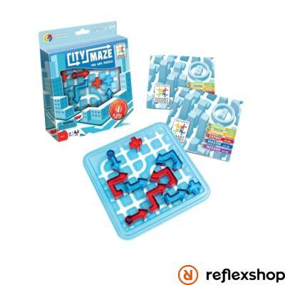 Smart Games City Maze - Út Vonal logikai játék