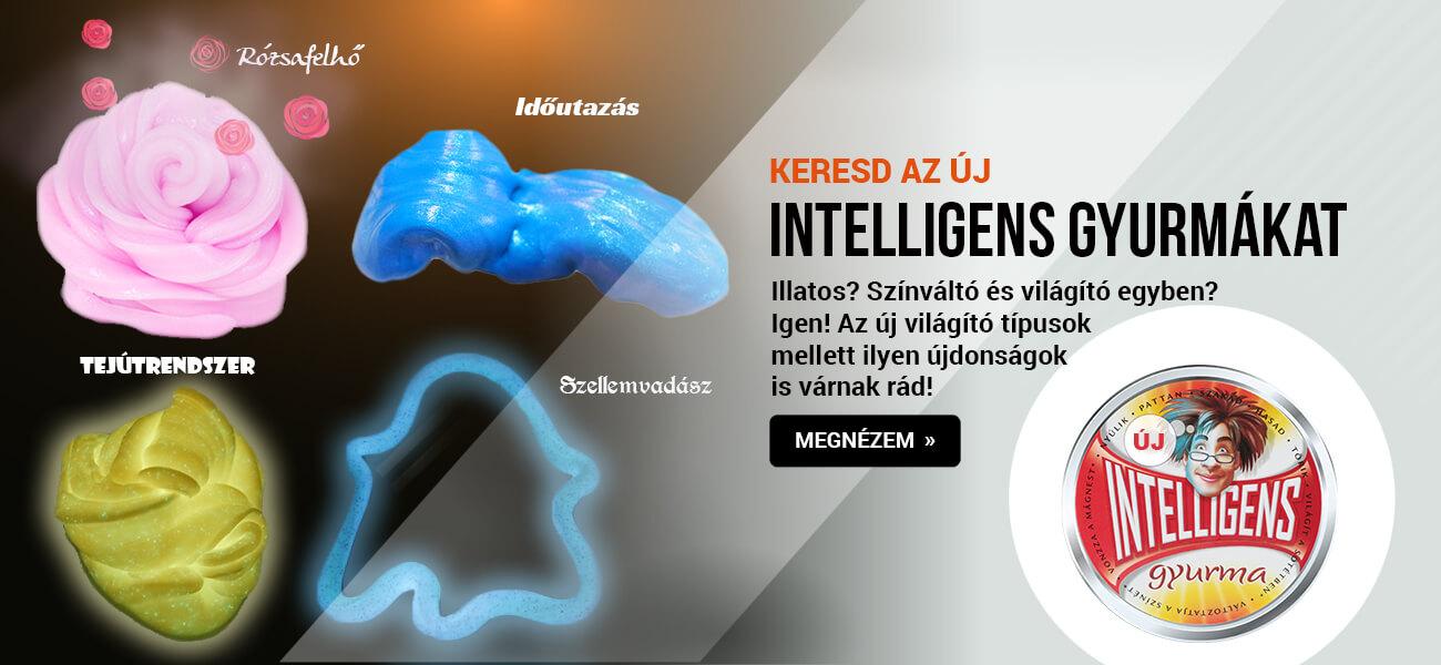 új intelligens gyurmák